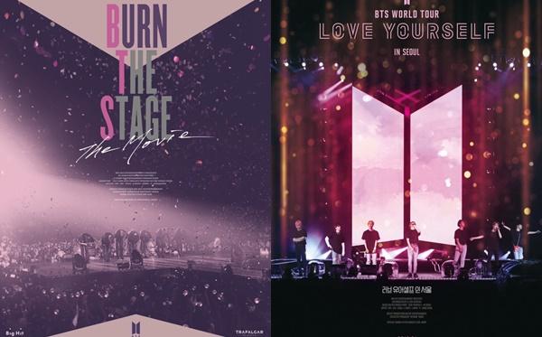 2 bộ phim trước đó của BTS đều gây sốt và lập các kỷ lục doanh thu.