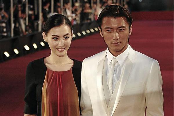 Trương Bá Chi và Tạ Đình Phong.