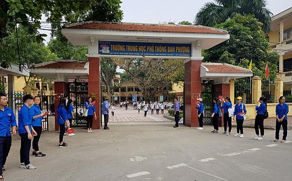 Điểm thi THPT Đan Phượng, Hà Nội.