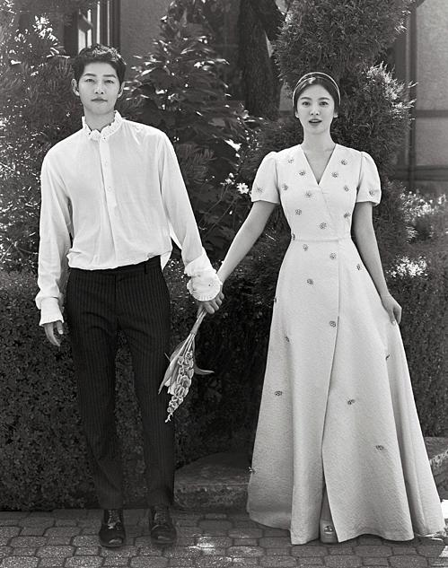 Đám cưới của Song - Song diễn ra vào tháng 10/2017.