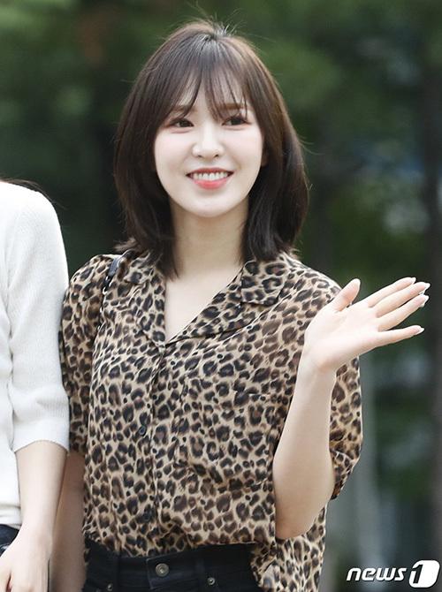 Wendy rất hợp với tóc ngắn, netizen cho rằng đây là thời kỳ đỉnh cao nhan sắc của nữ idol.