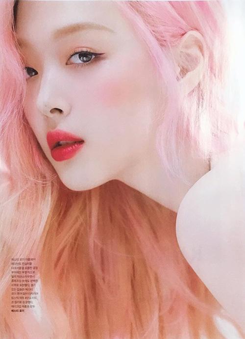 Loạt visual đỉnh cao nhuộm tóc hồng mùa hè 2019 - 3