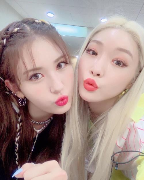 Chung Ha và Somi
