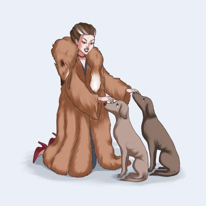 """<p> Ai đó luôn nói: """"Tôi rất yêu động vật"""", nhưng họ không ngần ngại khoác những chiếc áo lông thú đắt đỏ lên trên người.</p>"""