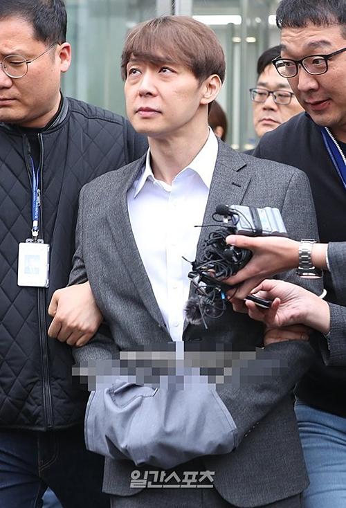 Park Yoo Chun bị bắt tạm giam vì có dấu hiệu phá hủy chứng cứ.