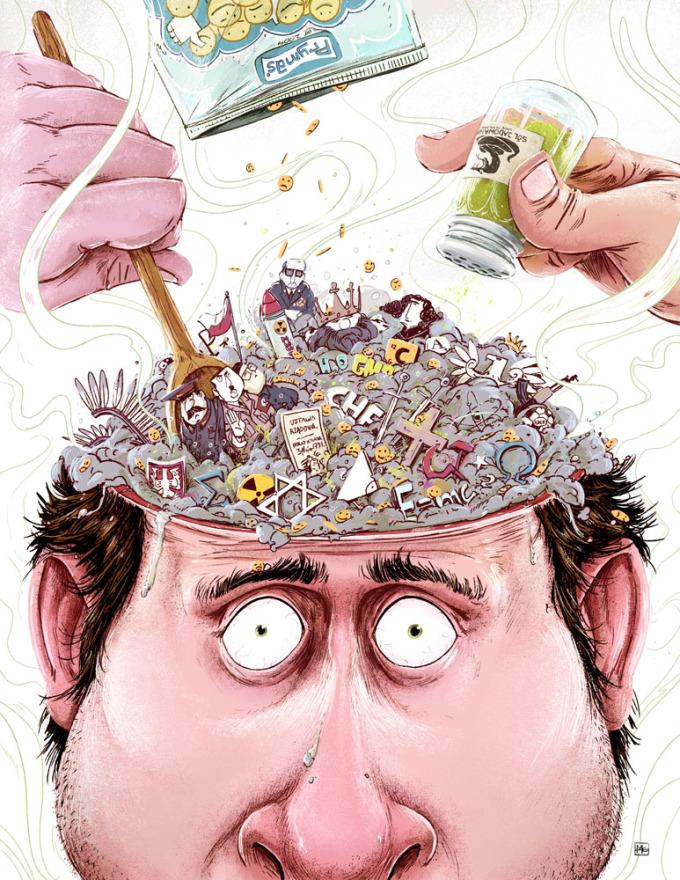 <p> Những áp lực công việc, đối phó với đồng nghiệp xấu tính, lo cho gia đình... luôn khiến đầu bạn muốn nổ tung.</p>
