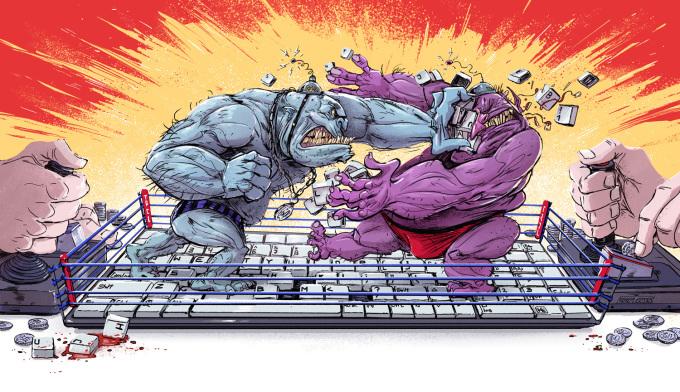 """<p> Những """"anh hùng bàn phím"""" xuất hiện ngày càng nhiều trên mạng xã hội.</p>"""