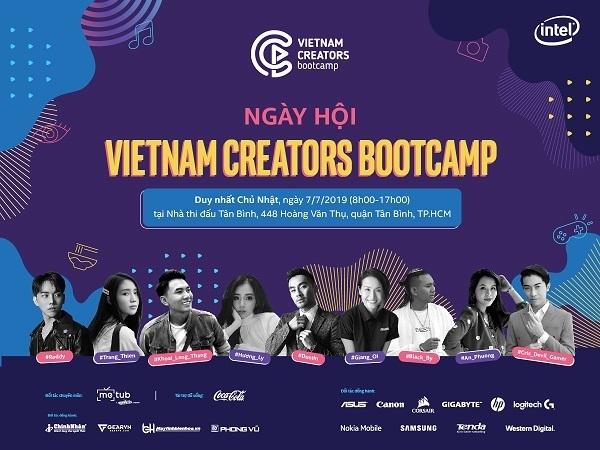 Vietnam Creators Bootcamp 2019 sắp diễn ra