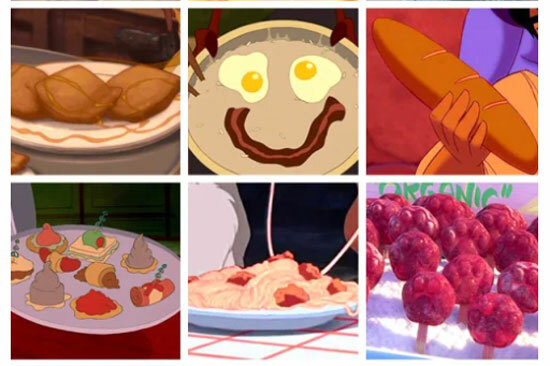 Món ăn nào xuất hiện trong phim hoạt hình Disney?