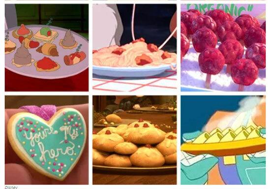 Món ăn nào xuất hiện trong phim hoạt hình Disney? - 9