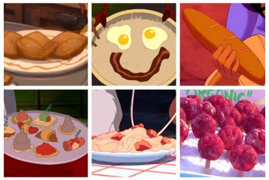 Món ăn nào xuất hiện trong phim hoạt hình Disney? - 11