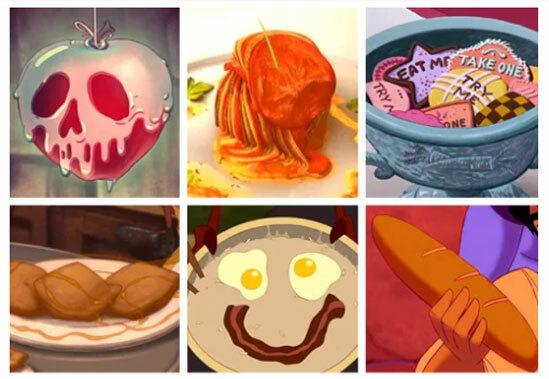 Món ăn nào xuất hiện trong phim hoạt hình Disney? - 1
