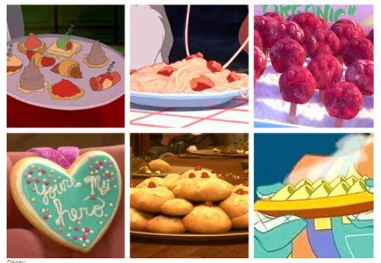 Món ăn nào xuất hiện trong phim hoạt hình Disney? - 4