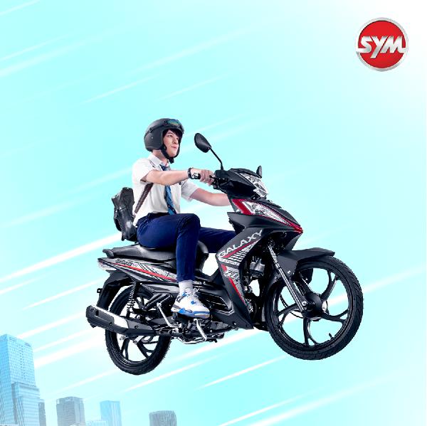 SYM 50cc – Xe của bạn trẻ thích trải nghiệm.