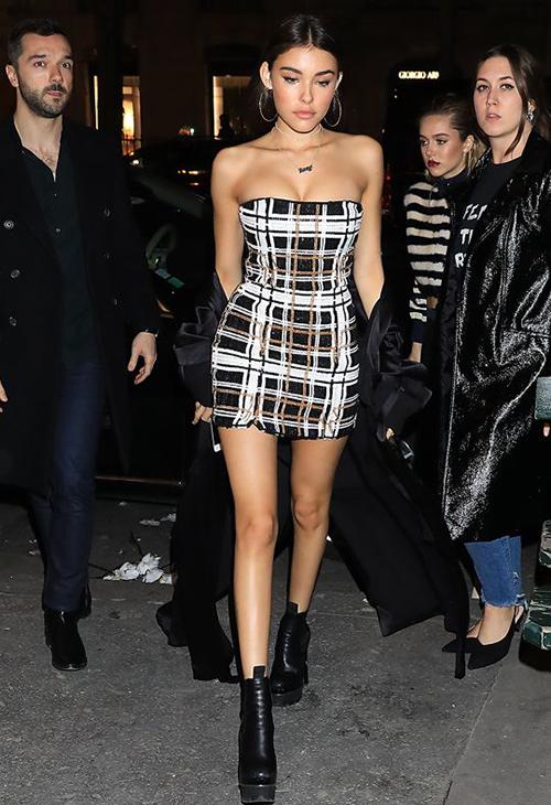 Bên cạnh những cái tên đình đám trong giới trẻ như Kendall - Kylie Jenner, Gigi - Bella Hadid, Kaia Gerber..., Madison Beer cũng được xem là một It Girl nhờ phong cách nổi bật.