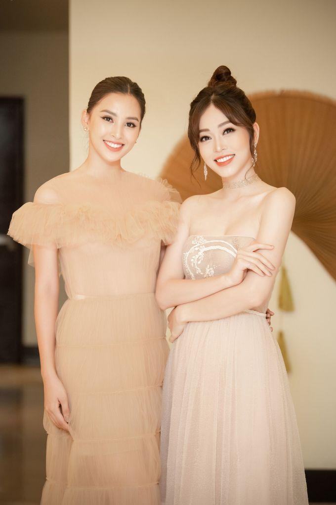 <p> Sau Hoa hậu Việt Nam 2018, Tiểu Vy - Phương Nga thành những người bạn thân thiết.</p>