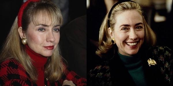 Chiếc băng đô biểu tượng của bà Hillary Clinton thời trẻ.