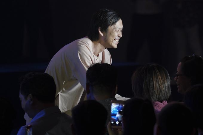 <p> Danh hài Hoài Linh góp mặt tại sự kiện, nhận được nhiều sự yêu mến của khán giả.</p>