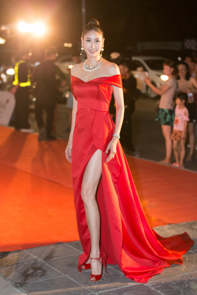 <p> Hoa hậu Hà Kiều Anh.</p>