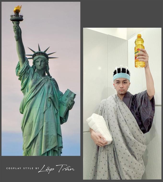 <p> ... thậm chí cả tượng Nữ thần tự do.</p>
