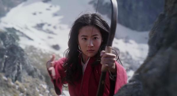 Lưu Diệc Phi trong Mulan.