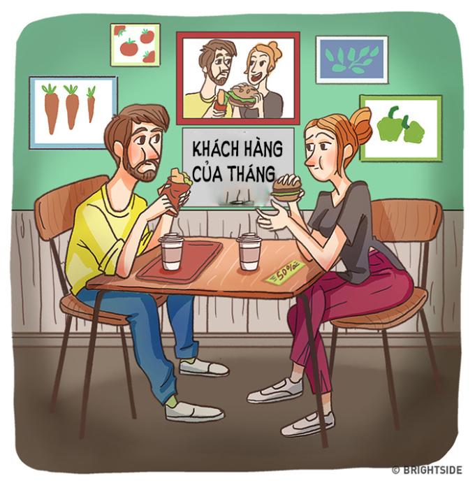 <p> Dành hàng giờ chọn một địa điểm để ăn, cuối cùng lại đến chỗ quen thuộc.</p>
