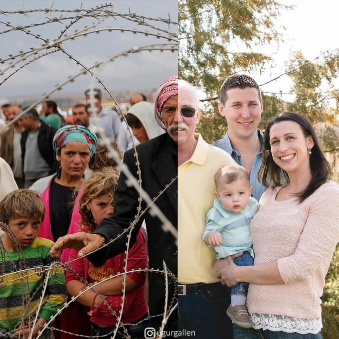<p> Ở đâu đó ngoài thế giới, có những đứa trẻ mong muốn vượt qua hàng rào thép gai để đến với tự do, nơi không còn chiến tranh, không còn bom đạn.</p>