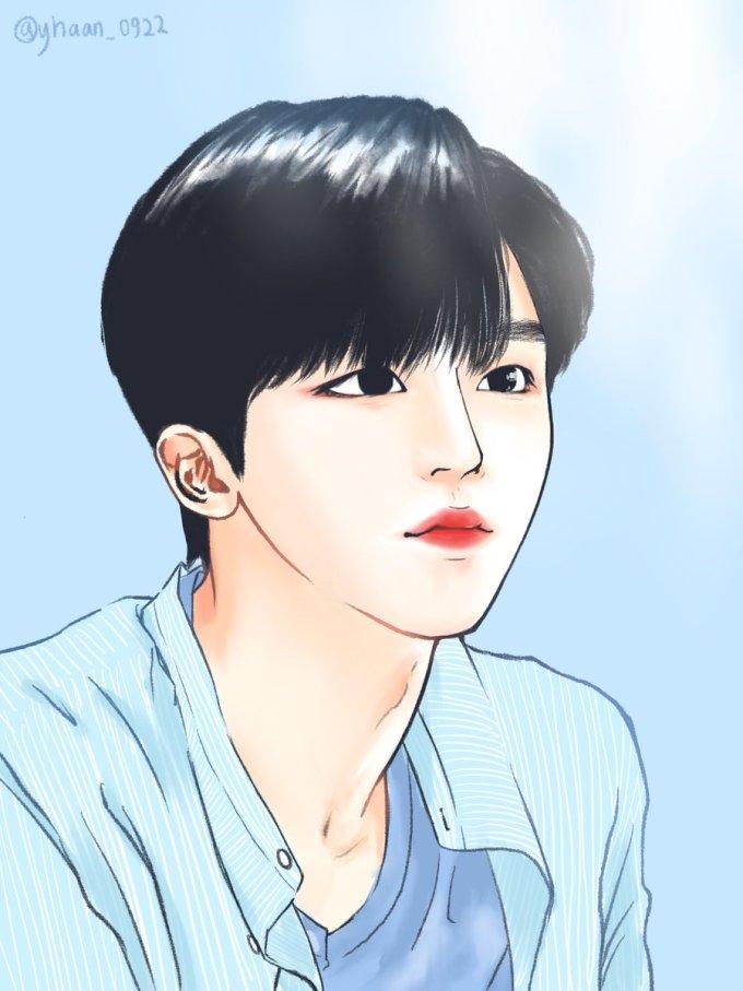 <p> Các fan vẽ rất nhiều hình ảnh Yo Han. Anh chàng giống hệt nam chính trong các bộ webtoon được yêu thích ở Hàn Quốc.</p>