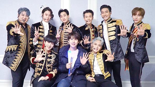 Hiện tại Super Junior chỉ còn 9 người hoạt động.