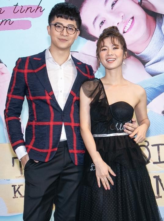 Bộ đôi diễn viên chính của phim Harry Lu - Oanh Kiều.