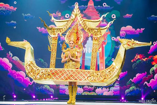 Trang phục dân tộc độc đáo của thí sinh Miss Grand Thailand 2019 - 3