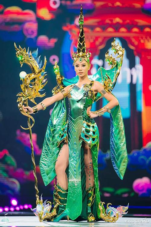 Trang phục dân tộc độc đáo của thí sinh Miss Grand Thailand 2019 - 10