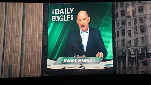J. Jonah Jameson - tổng biên tập tờ The Daily Bugle.