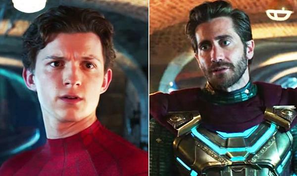 Mysterio chính là tấm gương phản chiếu lại những nỗi sợ của Peter Parker trong bộ phim.