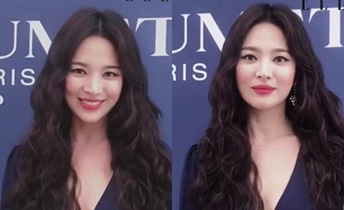 Vẻ tươi tắn trên gương mặt Song Hye Kyo khiến fan vui mừng. Chưa tròn 1 tháng sau khi Song Joong Ki đệ đơn ly hôn, cô đã trở lại guồng quay bận rộn của công việc với tâm trạng tốt.