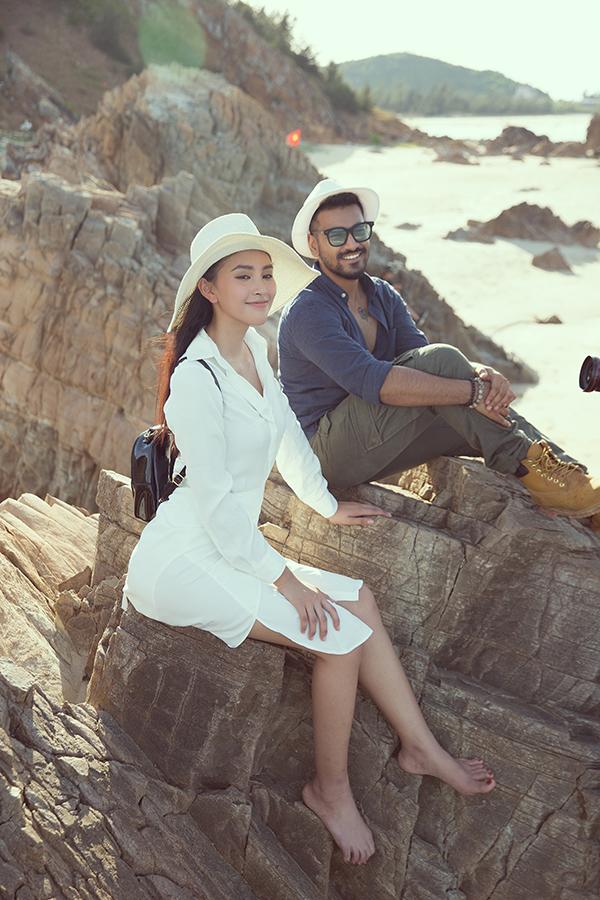 <p> Hoa hậu cho biết đây là hình ảnh trong một dự án quảng bá du lịch cho tỉnh Quảng Bình.</p>