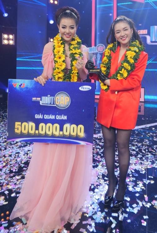 Thanh Hương - Đinh Hương giành quán quân cuộc thi.