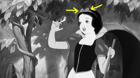 Màu sắc váy áo của công chúa Disney có làm khó bạn?