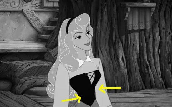 Màu sắc váy áo của công chúa Disney có làm khó bạn? - 2