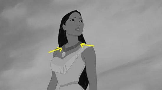 Màu sắc váy áo của công chúa Disney có làm khó bạn? - 6