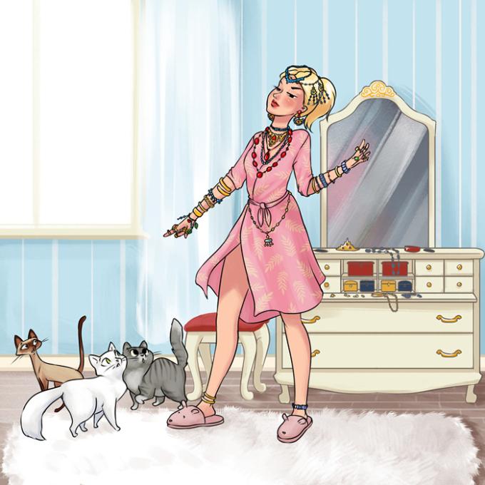 """<p> Các cô gái luôn giữ khư khư những món đồ trang sức rẻ tiền mà không bao giờ đeo - một bộ sưu tập """"bỏ thì thương, vương thì tội"""".</p>"""