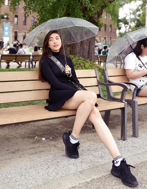 Lệ Hằng được đánh giá đang ở độ chín nhan sắc. Chương trình Cuộc đua kỳ thú 2019 có cô và HHen Niê tham gia, đang nhận được sự quan tâm từ khán giả.