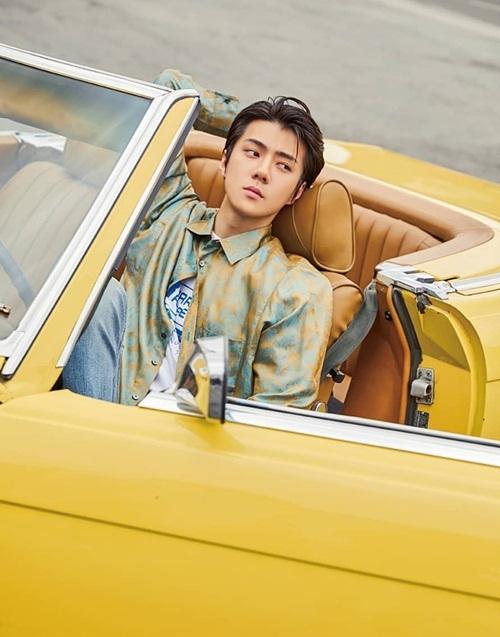 Se Hun cực bảnh trong hình teaser cho mini album đầu tay song ca với Chan Yeol.