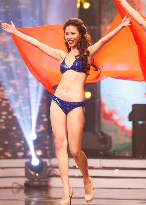 Năm 2018, người đẹp tiếp tục đại diện Việt Nam tham dự Miss Globe nhưng may mắn chưa mỉm cười.