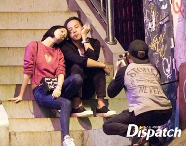 G-Dragon và Kiko Mizuhara.