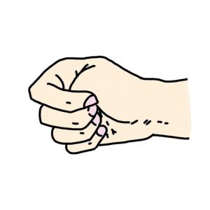 Trắc nghiệm: Nhìn thấu tâm tư của người khác qua cách siết tay thành nắm đấm - 1