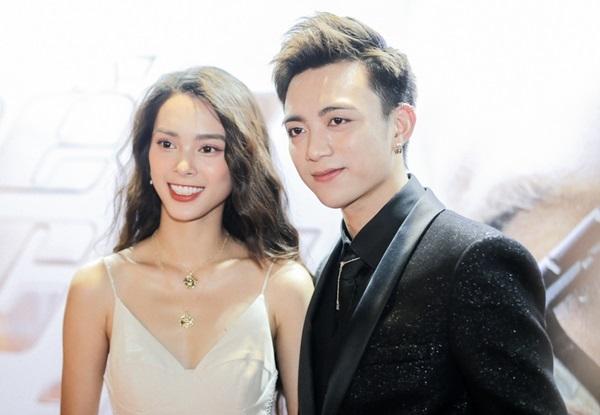 Soobin Hoàng Sơn và bạn diễn Quỳnh Lương trong MV.