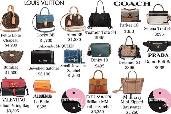 Tuy có xuất thân giàu có nhưng Rosé lại không chịu chơi sắm túi xách như ba cô bạn cùng nhóm. Trong Black Pink, bộ sưu tập túi của cô nàng khiêm tốn nhất, tuy nhiên cũng tốn khoảng 64.000 USD (1,5 tỷ đồng) để sắm về. Thương hiệu ruột của Rosé là Louis Vuitton.