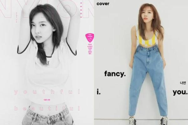 Cô nàng lần đầu lên bìa tạp chí với tư cách cá nhân từ khi debut.
