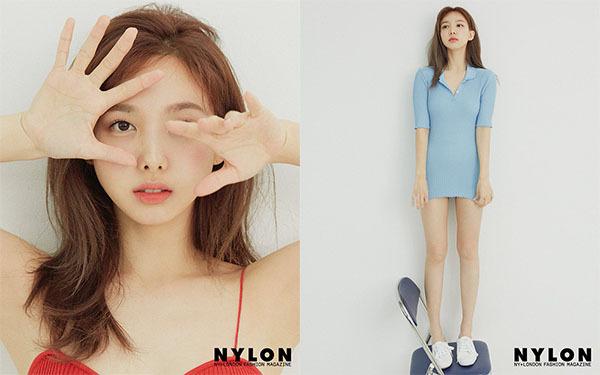 Trang phục của Na Yeon bị chê quá sexy.